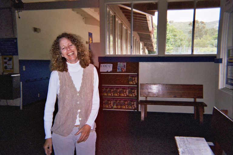a woman in the canyon enrichment center