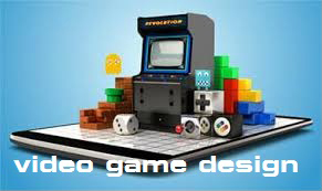 video game design logo