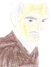 student illustration of Board of Directors member Vito Francone