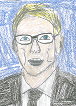 student illustration of Board of Directors member William Dolan