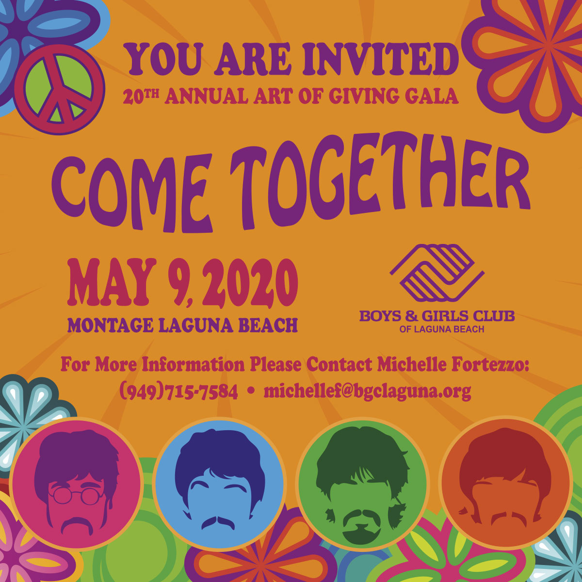 2020 Art of Giving Poster