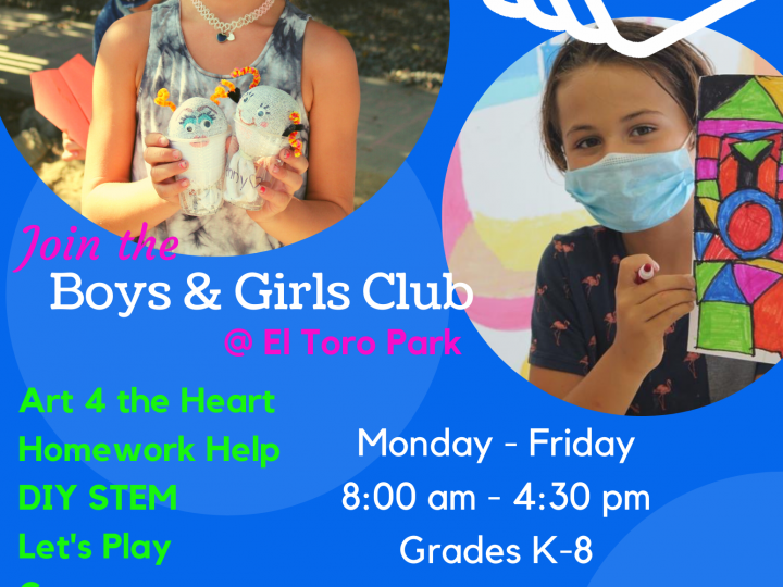 Afterschool at El Toro Park!