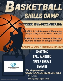 Basketball Skills Camp!
