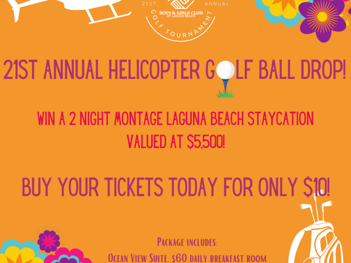 Buy your golf ball drop ticket today!