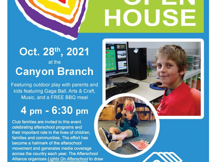 Join Us for Lights On After School Open House!