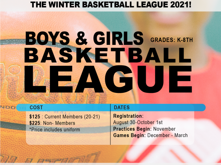 Sign Up For Fall Basketball Today!